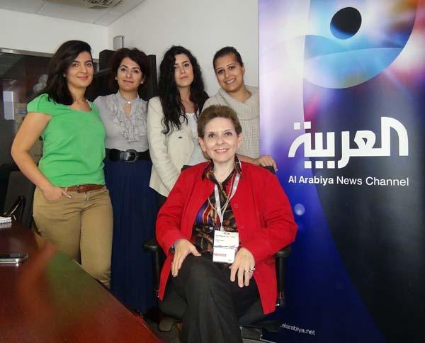 MU Beefs Up Al Arabiya English Journalists Abilities Media - Al arabiya english