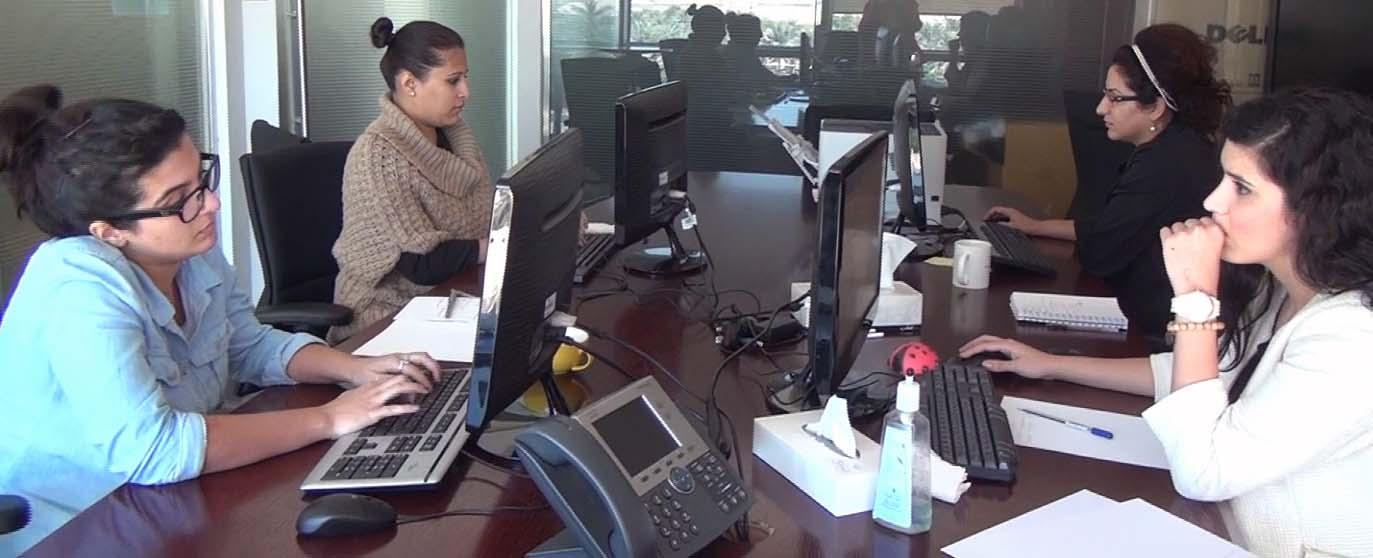 Members Of Al Arabiya English Web Team Media Unlimited - Al arabiya english