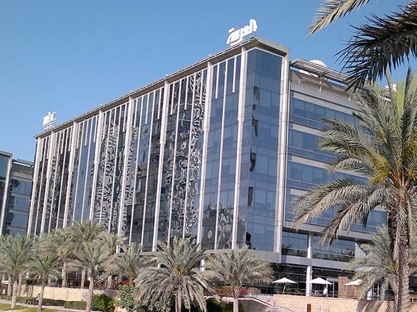 MBC-Al Arabiya building in Dubai