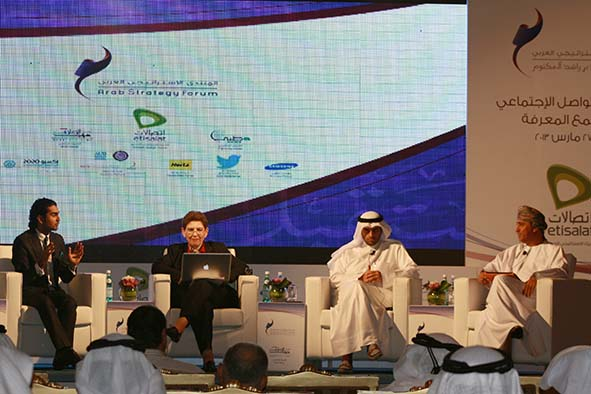 Arab media and social networks panel