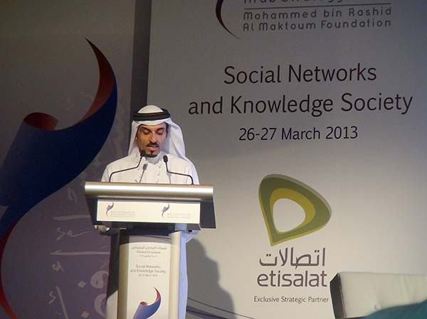 MBRF CEO Sultan Ali Lootah opens ASF 2013