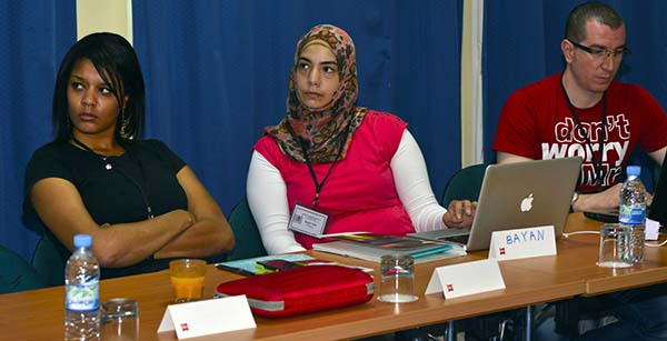 Participants at Rabat boot camp