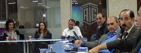Amman conferees discuss elections coverage in their countries