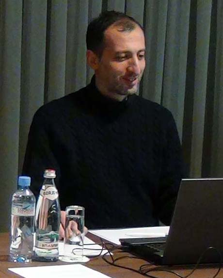 Georgian journalist-mentor Akaki Gvimradze