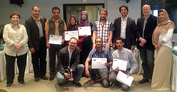 BBC Media Action training of Libyan journalists in Tunis
