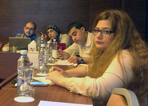 Lebanese journalists learn how to tighten their copy