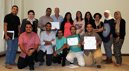 Abu-Fadil & Fish with Group II of Egyptian trainees