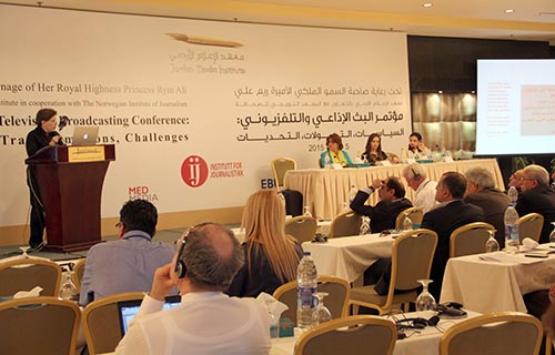 Magda Abu-Fadil speaks on ethics in broadcast media