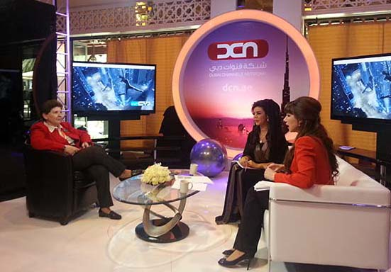 Magda Abu-Fadil interviewed by Dubai TV