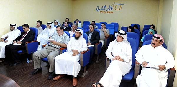 Al Sharq editors and writers attend professional development workshop