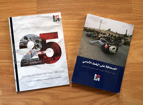 IFJ publications on journalists' casualties and safety