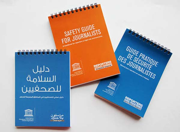 UNESCO's safety guide for journalists