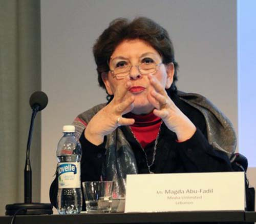 Magda Abu-Fadil on safety for journalists