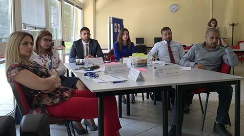 Palestinian diplomats hone media skills in Turin