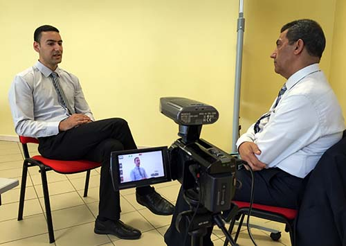 Siyam offers pointers on TV interviews