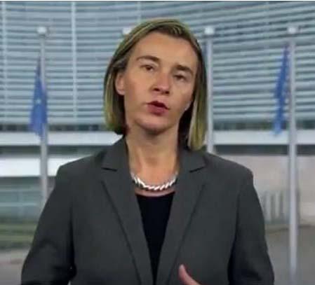 Federica Mogherini's video message on hate speech