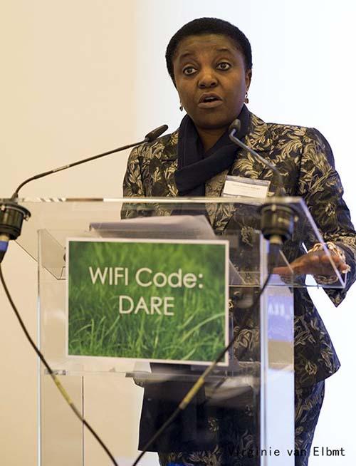 MEP Cécile Kyenge (courtesy Virginie van Elbmt)