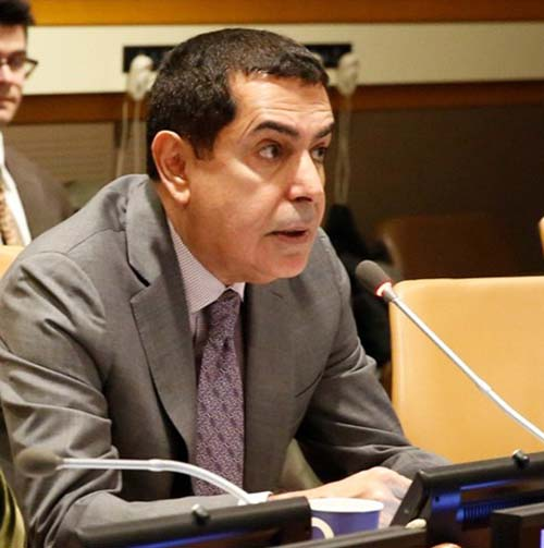 Nassir Abdulaziz Al-Nasser, High Representative for the UNAOC (UNAOC photo)